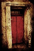 Julie Williams Metal Prints - Red Door Metal Print by Julie Williams
