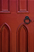 Entrance Door Framed Prints - Red Door Framed Print by Margie Hurwich