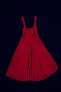 Evening Gown Photo Metal Prints - Red Dress Metal Print by Joana Kruse