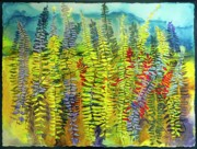 Edith Hardaway - Red Ferns