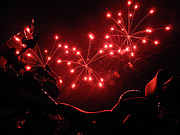 Tobey Brinkmann - Red Fireworks over Soft...