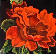 Jeanene Stein - Red Flower