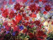 Mario Zampedroni - Red Flowers