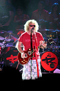 Van Halen Originals - Red Gibson by Dennis Jones