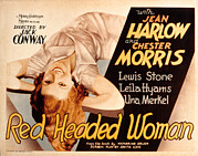 Harlow Posters - Red-headed Woman, Jean Harlow, 1932 Poster by Everett