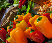 Hot Peppers Prints - Red Hot Chili Peppers Print by Marcie Adams Eastmans Studio Photography