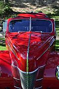 Clayton Framed Prints - Red Hot Rod Framed Print by Clayton Bruster