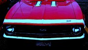 1968 Camaro Photos - Red Hot SS by Greg Moores