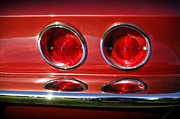 Cylinder Photos - Red Hot Vette by Luke Moore