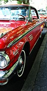 Mercury Meteor Prints - Red Meteor Print by Cathie Tyler