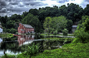 Hunterdon County Posters - Red MIll Poster by Ryan Crane