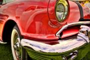 Antique Automobiles Photos - Red One by Jerry Golab