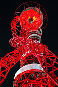 London 2012 Prints - Red Orbit. Print by Terence Davis