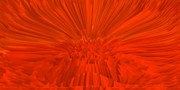 Muladhara-chakra Prints - Red-Palace Print by Ramon Labusch