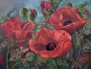 Jan Holman - Red Poppies