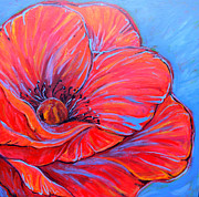 Red Poppy Print by Jenn Cunningham