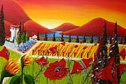 James Dunbar - Red Poppy Wine Vineyard...