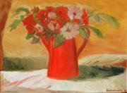 Kostas Koutsoukanidis - Red Pot and flowers