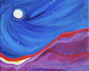 First Star Art Paintings - Red Ridge by First Star Art
