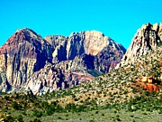 Bureau Prints - Red Rock Canyon 63 Print by Randall Weidner