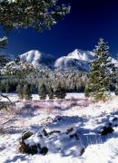 Red Rock Pass Winter Print by Leland D Howard