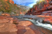 Slide Rock Posters - Red Rock Sedona Poster by Kelly Wade