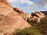 Silvie Kendall Metal Prints - Red Rock Metal Print by Silvie Kendall