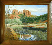 Red Rock Crossing Originals - Red Rocks of Sedona by Eleanor Mcintosh