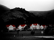 Sausalito Acrylic Prints - Red Roofs of Sausalito Acrylic Print by Nicole  Terrell