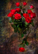 Red Roses Print by Svetlana Sewell