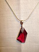 Red Jewelry - Red Ruby by Tonya Hoffe