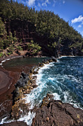 Hana Photos - Red Sand Beach by James Roemmling