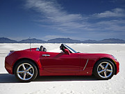 Motorsports - Red Sky White Sands by Douglas Pittman