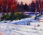 Lawrence Chrapliwy - Red Sky Winter