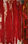 Layer Painting Prints - Red Study 1 Print by Brian Drake - Printscapes