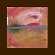 Shock Pastels Prints - Red Tide  Print by Charles Stuart