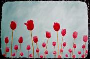 Jesska Hoff - Red Tulips