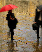 Greg Matchick - Red Umbrella In the...