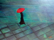 Tinsu Kasai - Red Umbrella