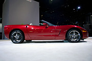 Red Vette Print by Alan Look