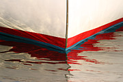 Abstract Photography Acrylic Prints - Red White and Blue by Juergen Roth