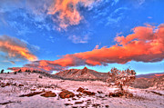 Cu Boulder Framed Prints - Red White and Blue Winter Framed Print by Scott Mahon
