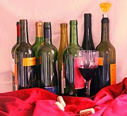 Merlot Prints - Red wine Print by Yumi Johnson