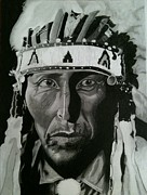 Chief Drawings Originals - RedBird by Don Speer
