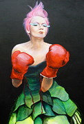 Boxing Paintings - Redd by Rylee Stearnes