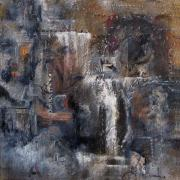 Ruins Mixed Media Originals - Redemption by Suzanne Kfoury