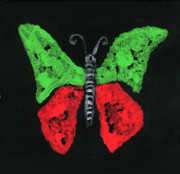 Oudi Arroni - RedGreen butterfly