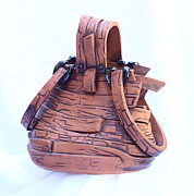Leather Sculptures - Rediculous by Tamra Pfeifle Davisson