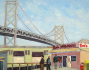 Ballpark Paintings - Reds by Deborah Cushman