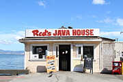 China Basin Prints - Reds Java House at San Francisco Embarcadero . 7D7709 Print by Wingsdomain Art and Photography